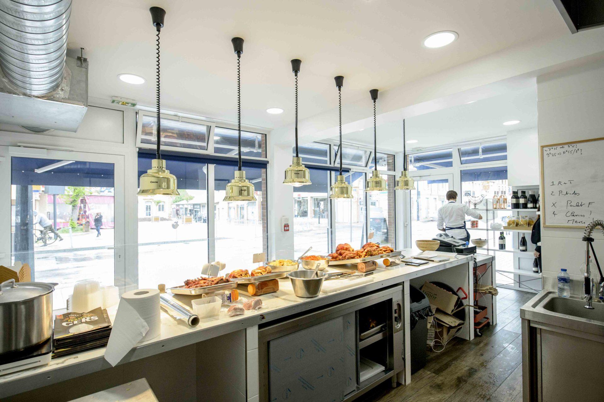 boutique décoration moderne éclairage design