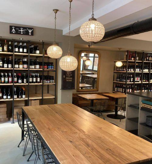 rénovation magasin de vin Balma